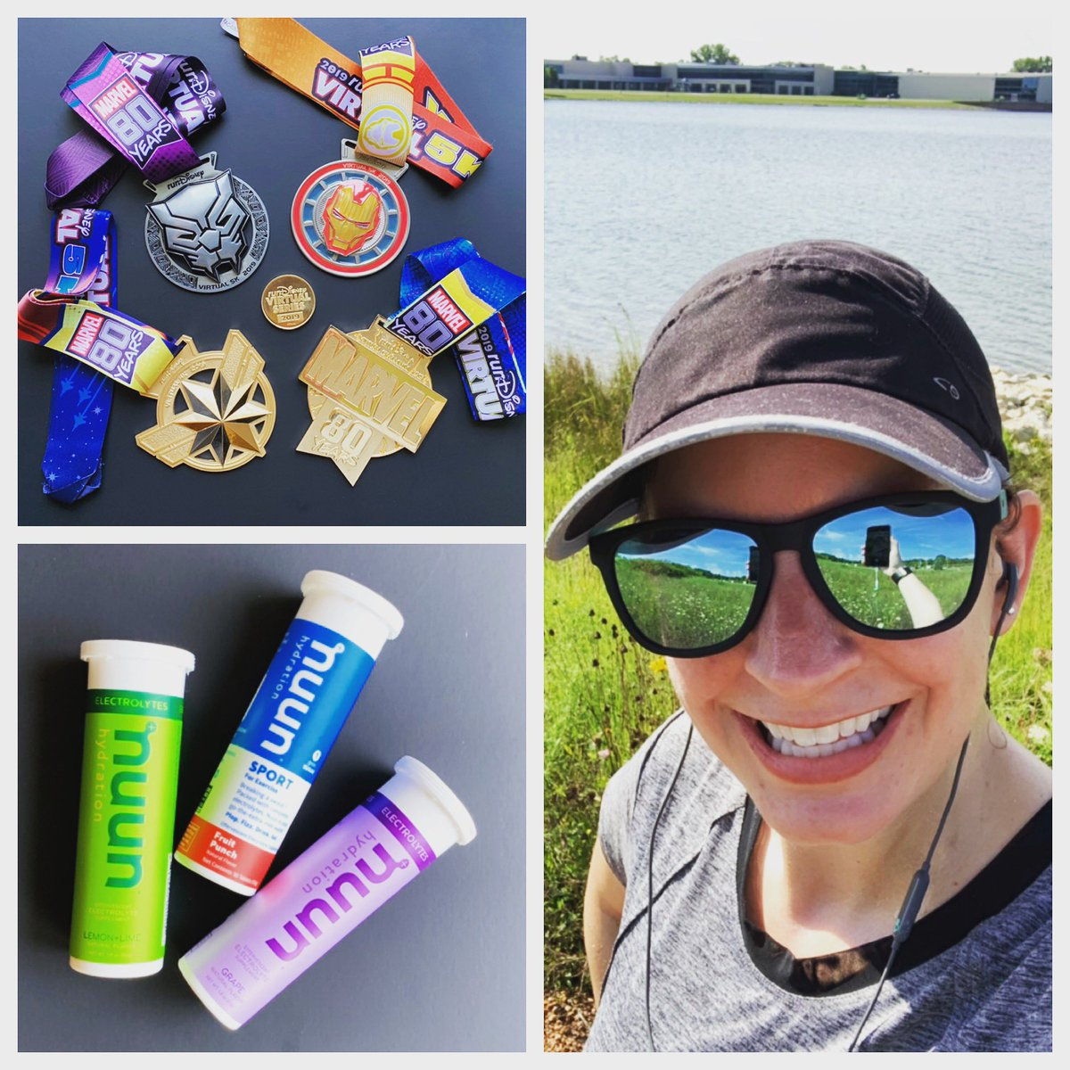 Ran my final 5k for the @runDisney #virtualshorts this morning!  These Marvel medals are absolutely amazing!!  And of course my @nuunhydration kept me hydrated as always.  Up next... who knows?!#nuunlove #nuunlife #nuunbassador #nuunbassador2019 #WIrunning #rundisney #marvel<br>http://pic.twitter.com/qoWTJKsA9d