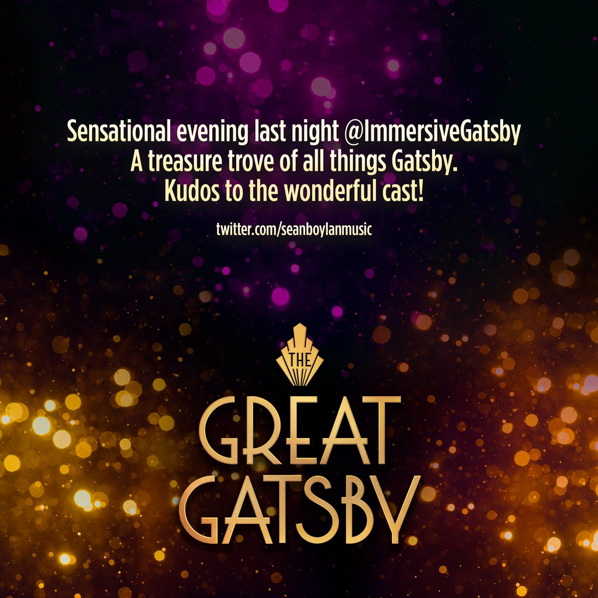 The Great Gatsby (@ImmersiveGatsby) | Twitter