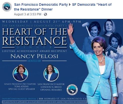 "San Francisco, the ""heart of the resistance"" <br>http://pic.twitter.com/SFlSCsHFMi"