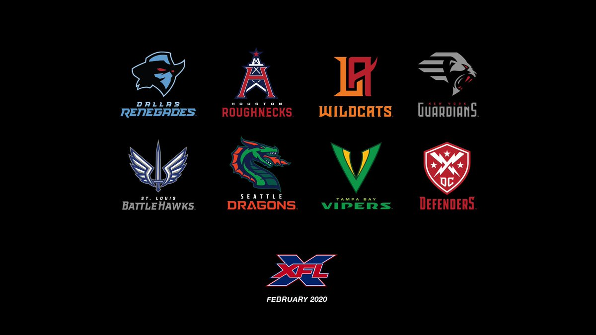 XFL Team Names And Logo Reveals: News And Notes From Live Simulcast