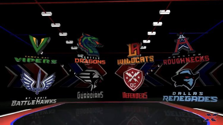 We've got ourselves some #XFL teams<br>http://pic.twitter.com/iJULo5Escb