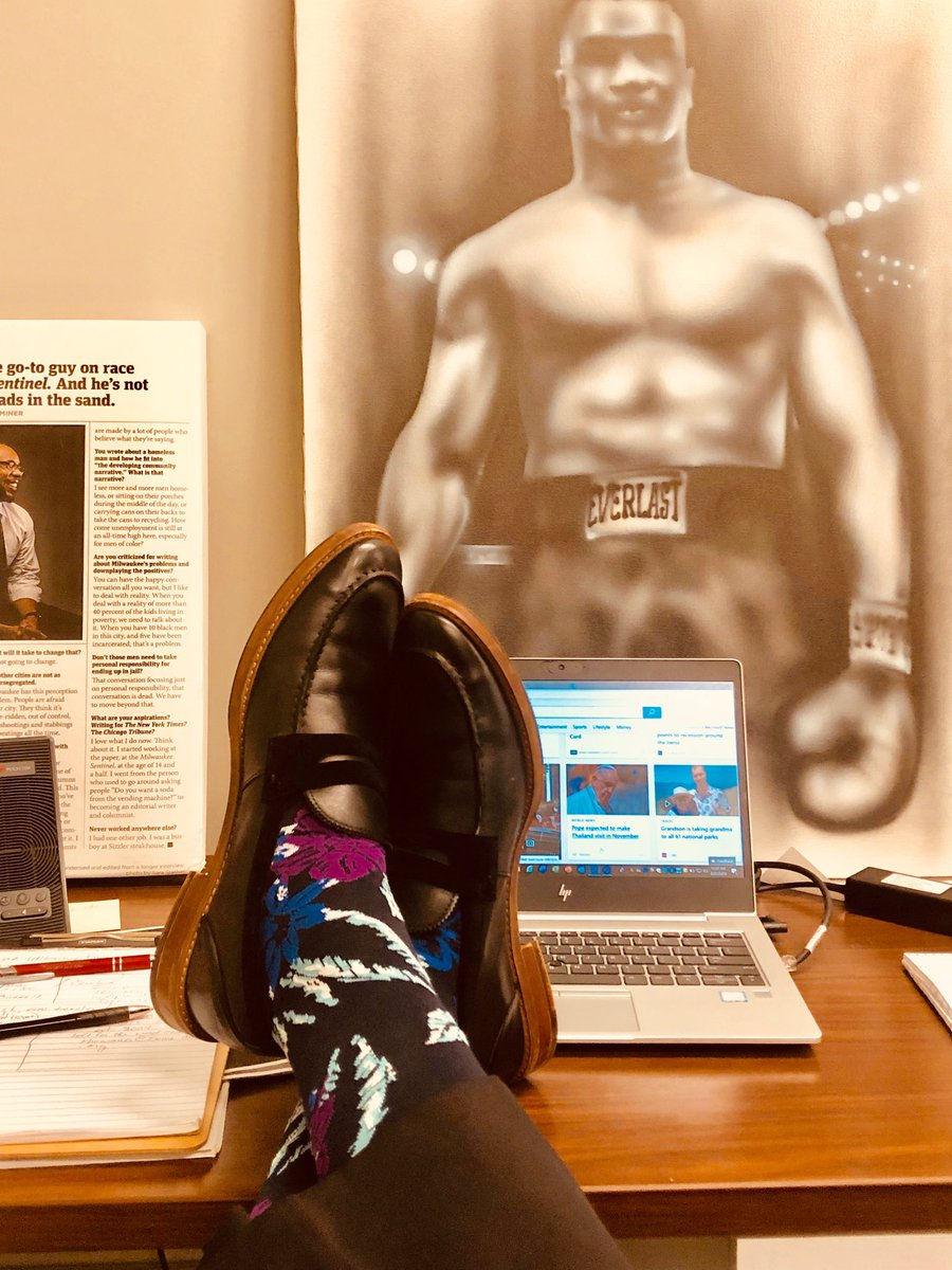 First week as an O'Brien fellow at Marquette University. I'm going to get more people into #sockgame Wednesday. @SockCouncil @sockington @EdtheSock<br>http://pic.twitter.com/YTCy7ovPOM