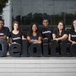 Image for the Tweet beginning: Deloitte recruits from the top
