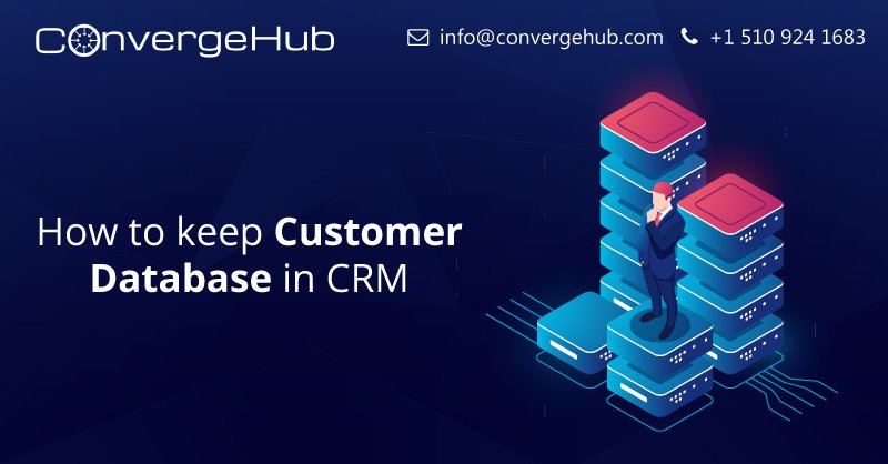 A CRM database encompasses all the customer data that you collected, stored and analysed using your customer relationship management platform. Use ConvergeHub- The all-in-one CRM for your sales, marketing, and support teams. #founder #smallbiztips #crm  https:// goo.gl/d7sepo     <br>http://pic.twitter.com/CP0HAnrMx0