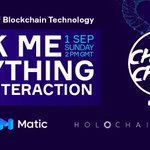 Image for the Tweet beginning: 🗣️ ASK ME ANYTHING  @creditscom, @maticnetwork,