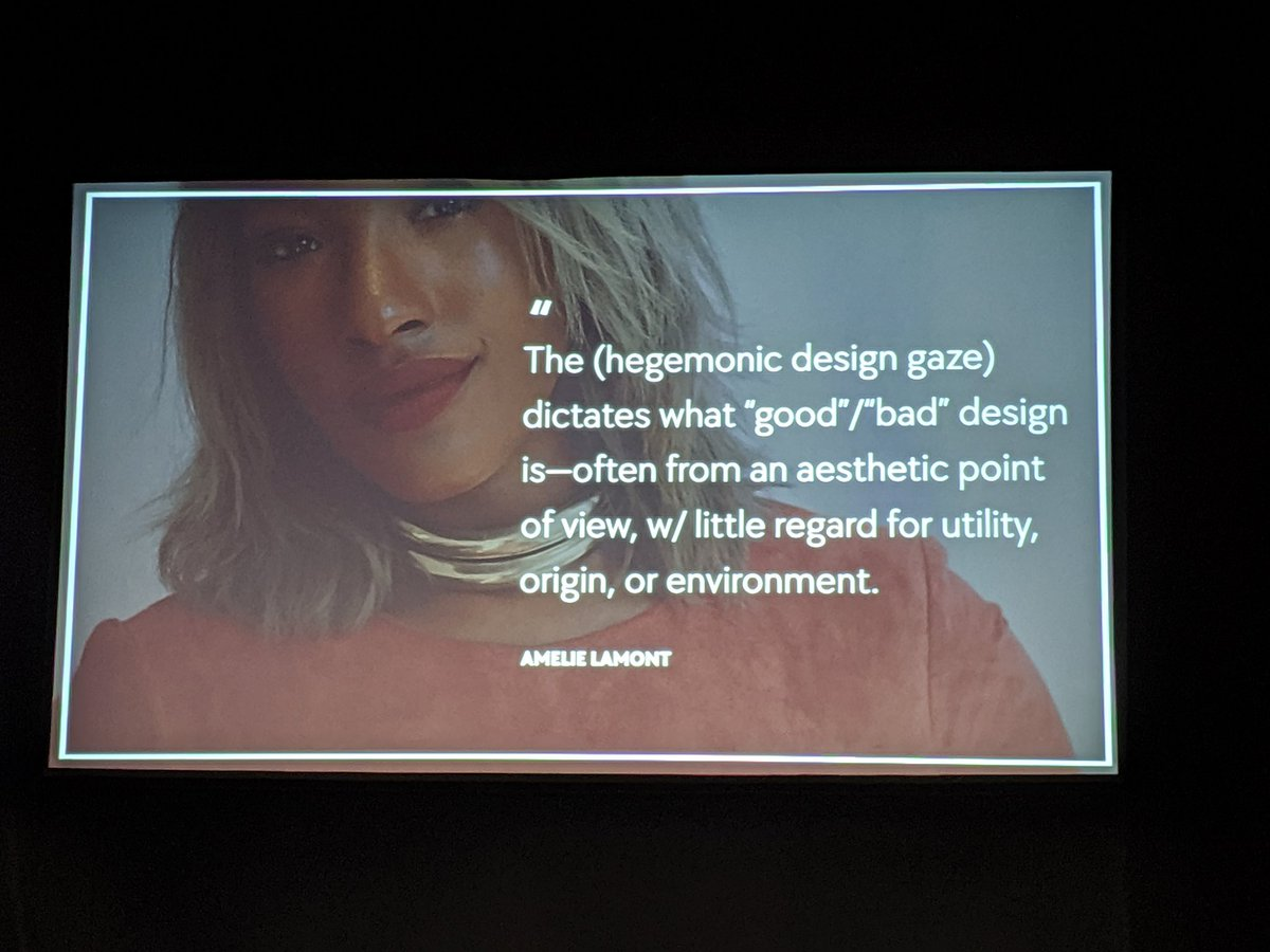 Yesterday the @clarity_conf had conversations about co-creating, web accessibility, and the need for a tech industry labor movement. Today @MinaMarkham is kicking off day 2 discussing the hegemonic design gaze. Here for all of it  #clarity2019<br>http://pic.twitter.com/HrylGIBfMH