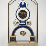 "Image for the Tweet beginning: Known as a ""skeleton clock"""