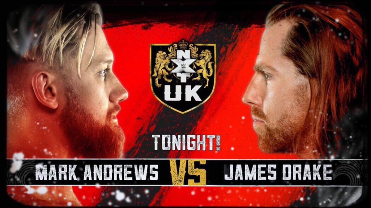 Tonight on #NXTUK @WalterAUT face to face with @Tyler_Bate The Hunt vs Imperium And we will be keeping a close eye on @MandrewsJunior vs @JamesDrake_GYT 8pm GMT only on the @WWENetwork #nxt #NXTUK #NXTUKTakeoverCardiff