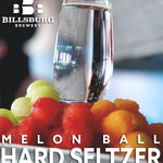 "THIS SATURDAY! New ""Beer""release at @BillsburgBeer . Billsburg's Melon Ball Hard Seltzer! Brilliantly #clear with notes of all your favorite fresh summer melons."