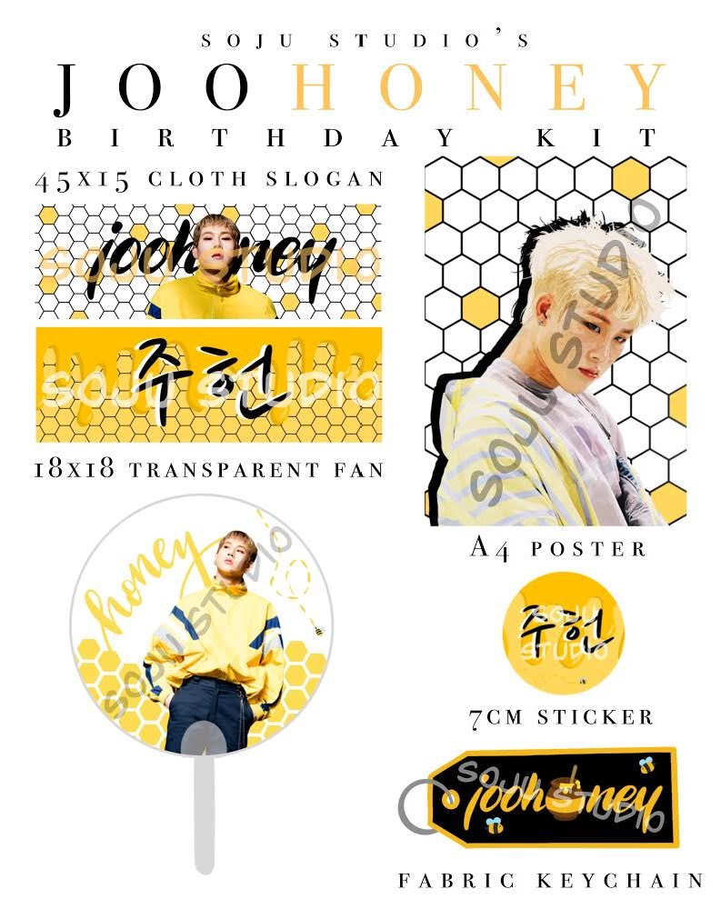 JooHONEY Birthday Kit  The JooHONEY Birthday Kit is now available for PREORDER at my shop! See the listing for details, and never hesitate to DM me if you have any questions!  LINK ->  https:// soju-studio.myshopify.com/collections/mo nsta-x/products/preorder-joohoney-birthday-kit   … <br>http://pic.twitter.com/pIpTFvIaF8