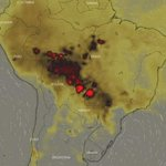 Image for the Tweet beginning: Imágenes de satelite en tiempo