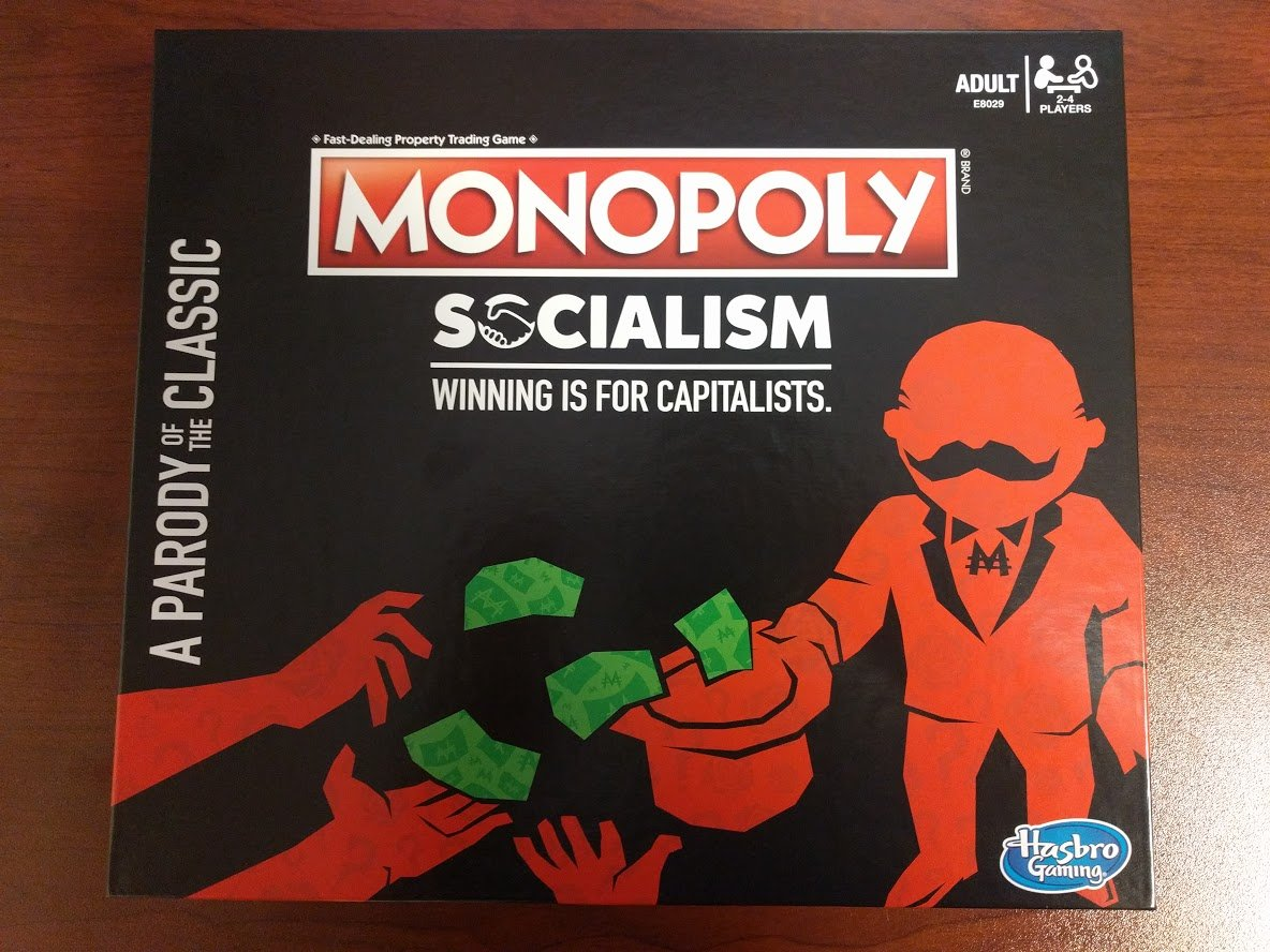 "I bought a copy of Hasbro's mean-spirited and woefully ill-informed ""MONOPOLY: SOCIALISM"" board game so you don't have to - a thread 1/"