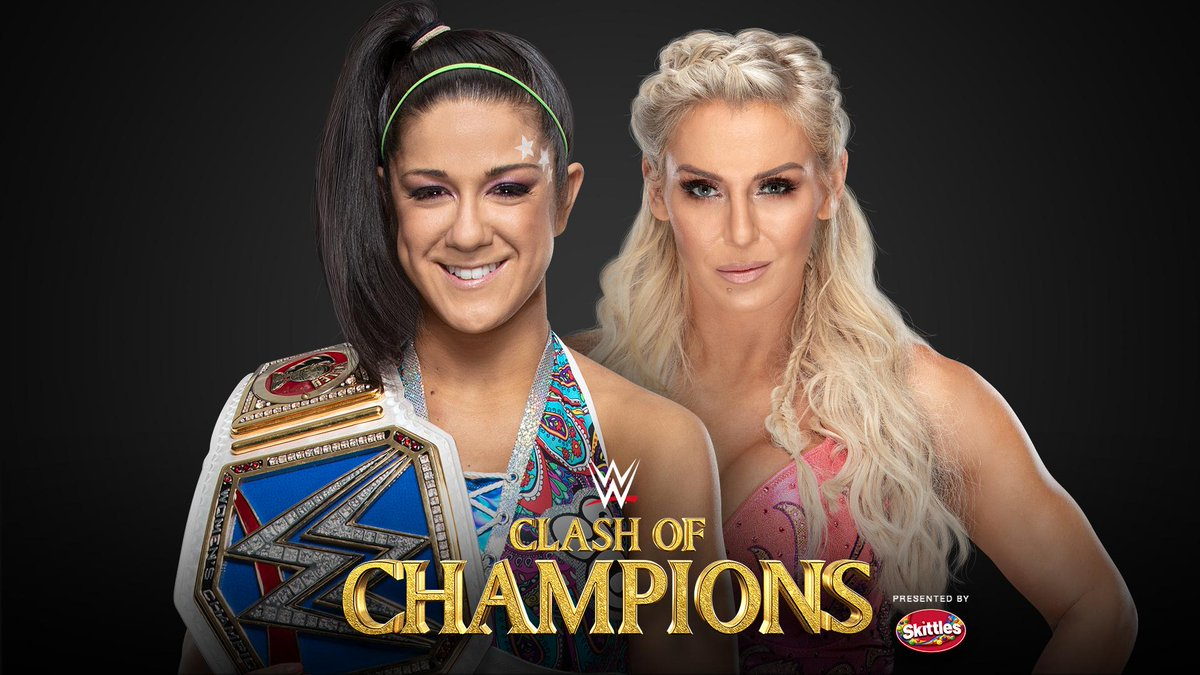 #RT @WWE: .@MsCharlotteWWE looks to become a 10-time champion when she challenges @itsBayleyWWE for the #SDLive #WomensTitle at #WWEClash of Champions! http://wwe.me/SNdovH