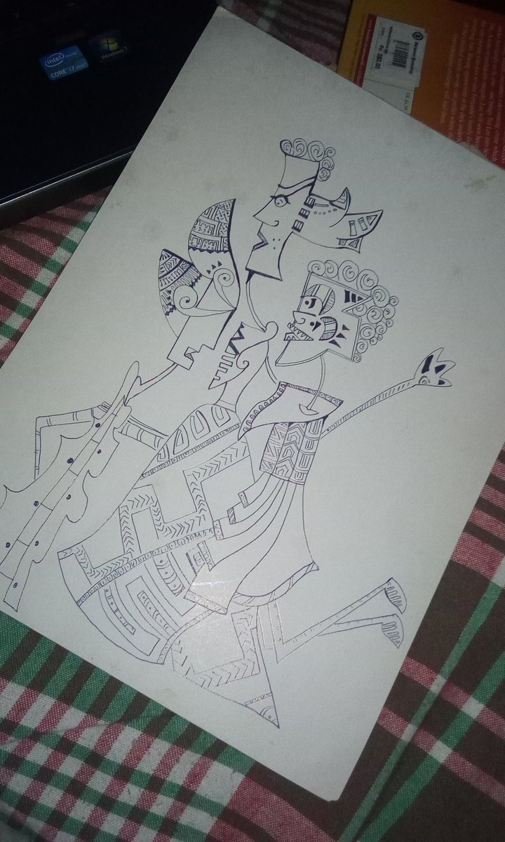 NOT A MISSED PIECE OF ART BY PICASSO  #FathiDoodles<br>http://pic.twitter.com/J6hs0x5QD2
