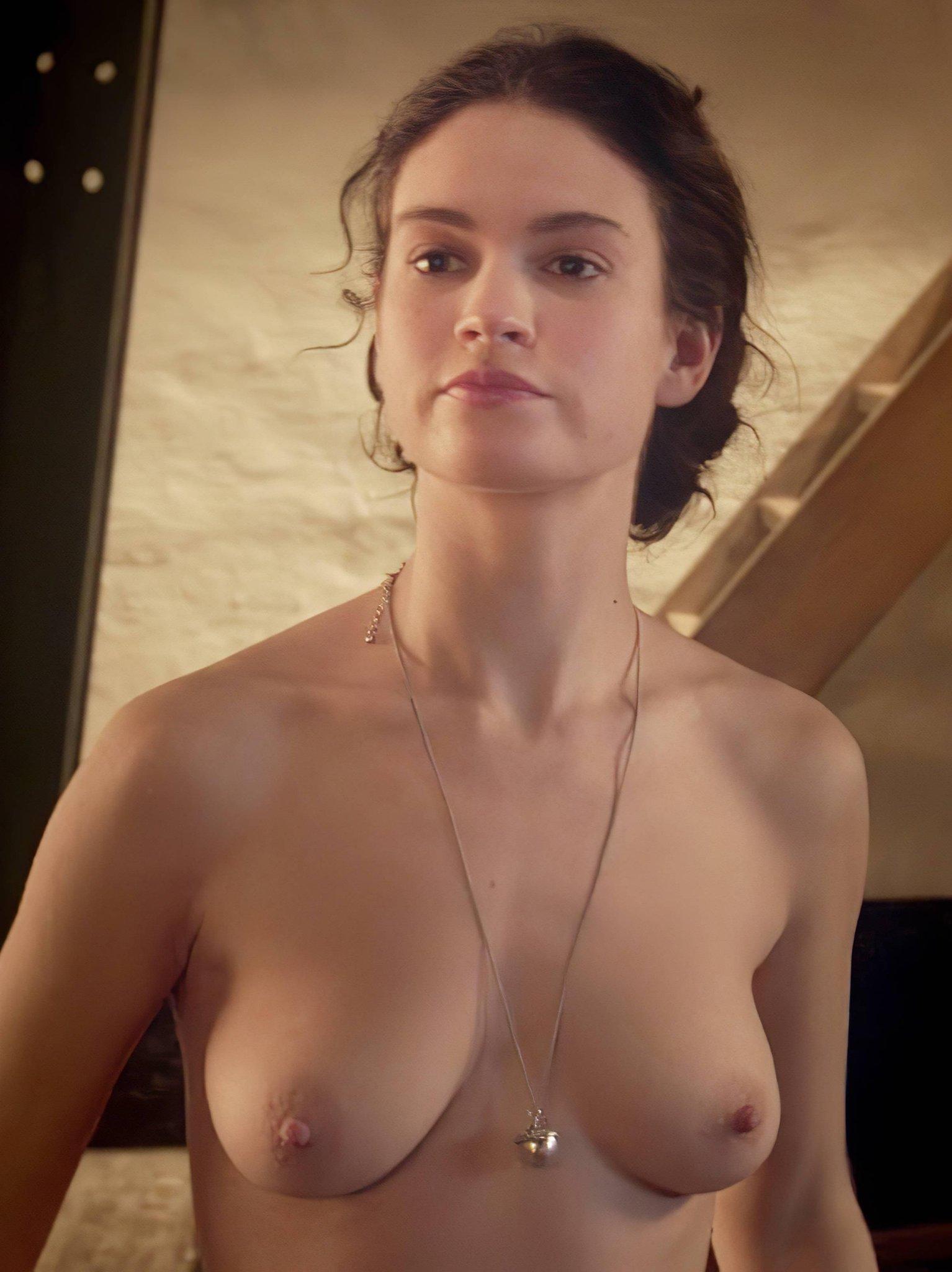 Lily James Sex