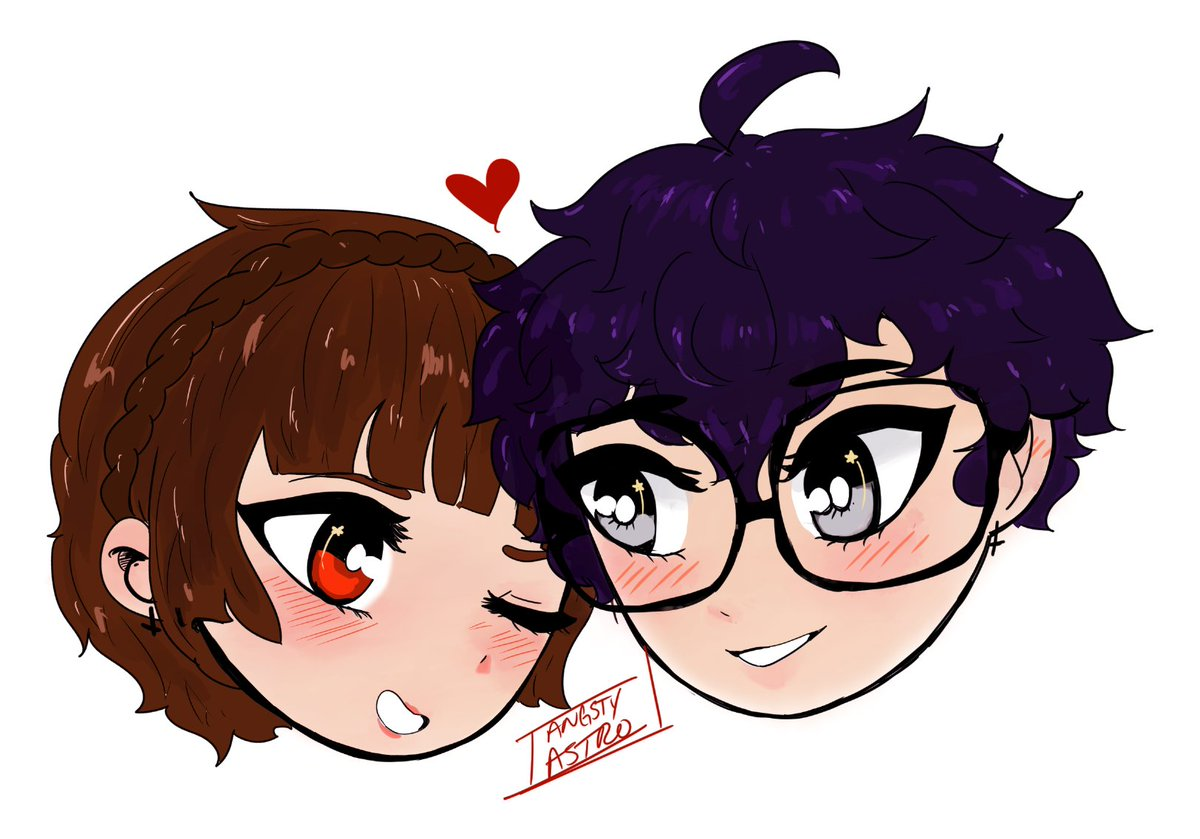 After a million years I have finished their design weeps #shumako #p5<br>http://pic.twitter.com/QAJO8K4TeW