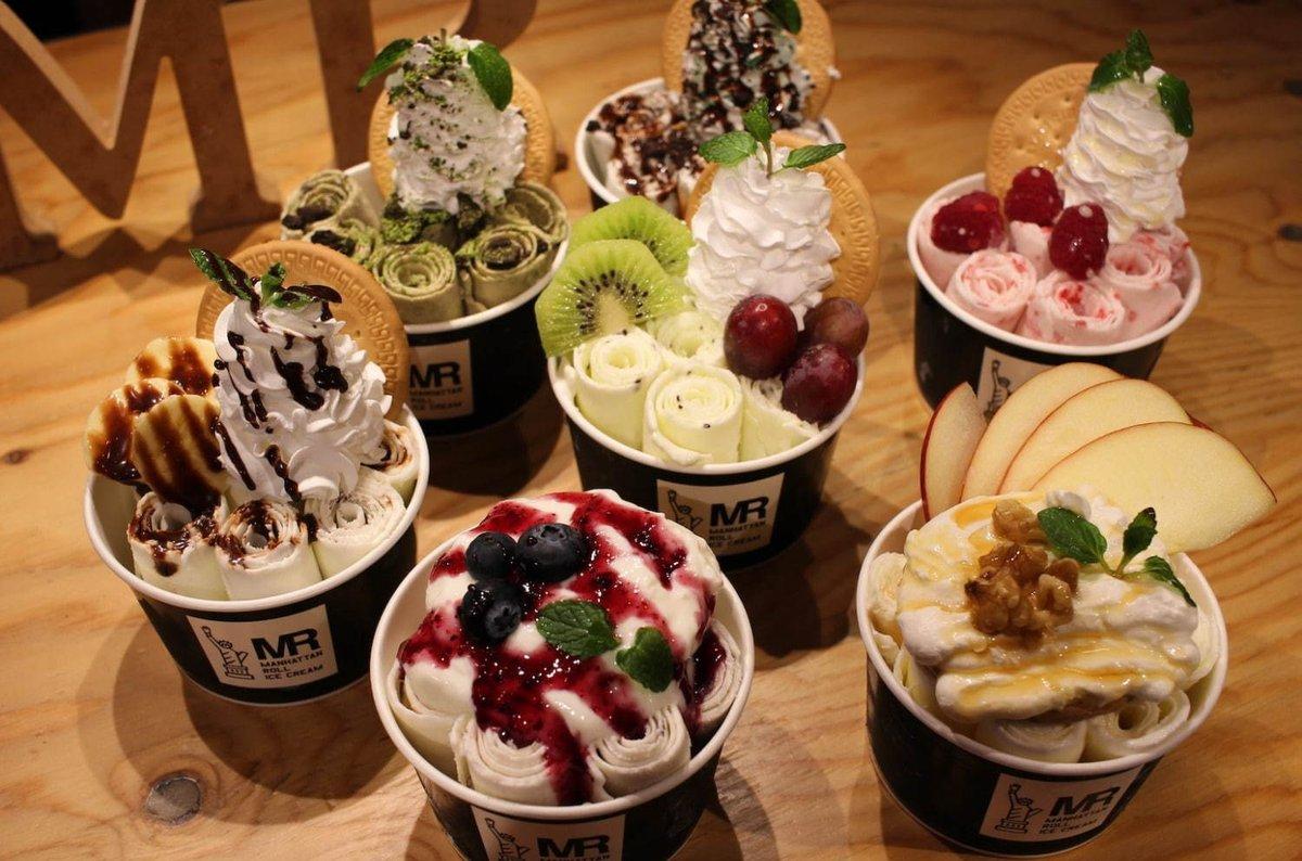 [明日から開催] ロールアイス専門店「マンハッタンロールアイスクリーム」アイスを100円で提供、原宿など限定6店舗で -