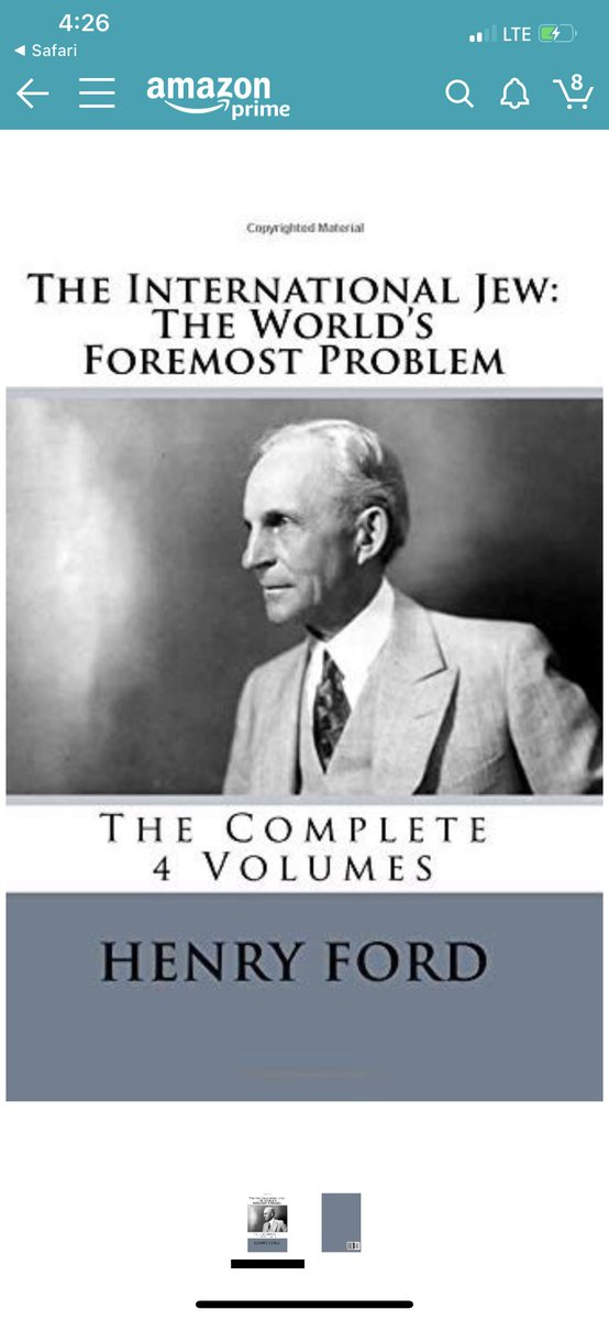 Wow you are really working that anti-Semite dog whistle aren't you? Henry Ford wrote this book ... <br>http://pic.twitter.com/syXiIXqhS3