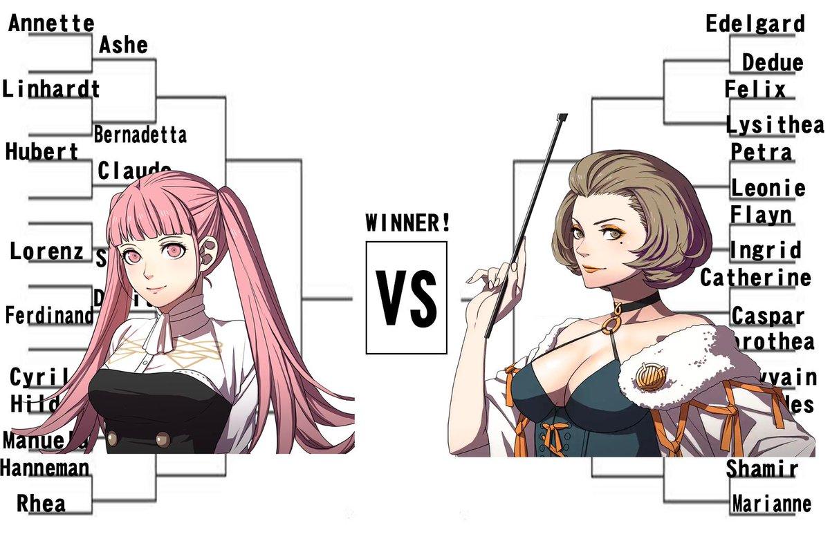 FE Three Houses Character Tournament: Match #7: Hilda vs. Manuela #ThreeHouses<br>http://pic.twitter.com/pEHflXqScz