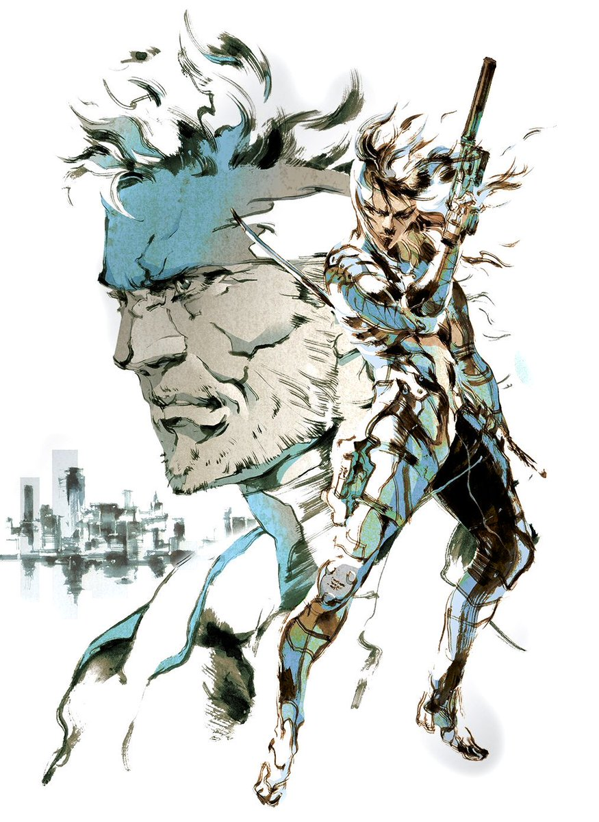 The art of Metal Gear Solid and Metal Gear Rising: Revengeance by Yoji Yoshikawa
