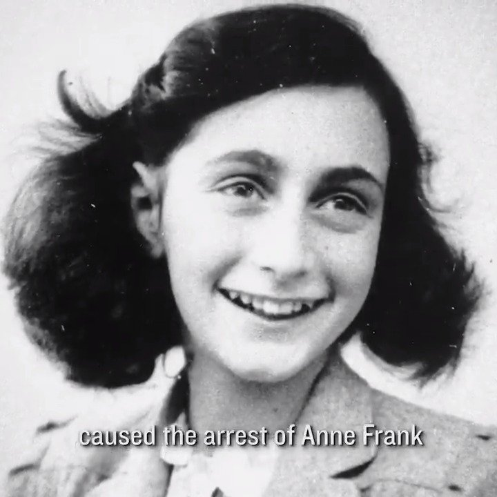 Anne Franks family was arrested in August 1944, but how they were discovered is still unknown. One retired FBI agent is still looking for answers. Vince Pankoke, with a team of forensic experts, is investigating the ongoing mystery of who betrayed the Frank family.@coldcasediary