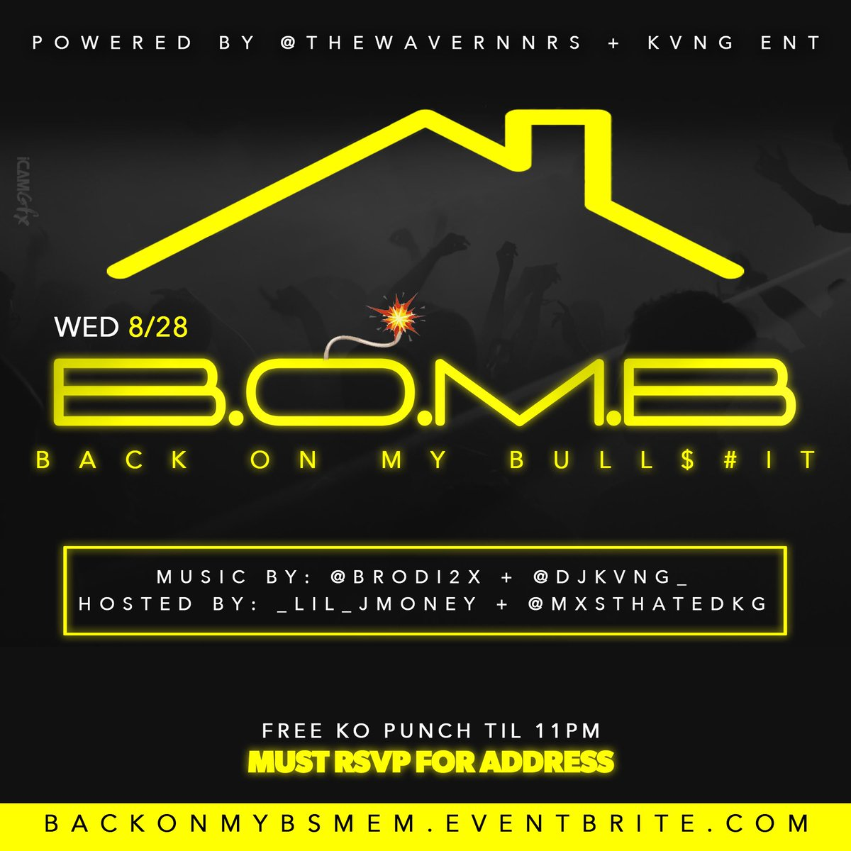 First House Party  of the Semester & We On Some Real Drunk shit  FREE KO PUNCH til 11  Hit the Link Below to RSVP, ADDRESS WILL BE SENT OUT THE DAY BEFORE THE EVENT .  RSVP Link:  http:// backonmybsmem.eventbrite.com       POWERED BY: @THEWAVERNNRS   #UofM20 #UofM21 #UofM22 #UofM23 <br>http://pic.twitter.com/qjjBXT8W1U