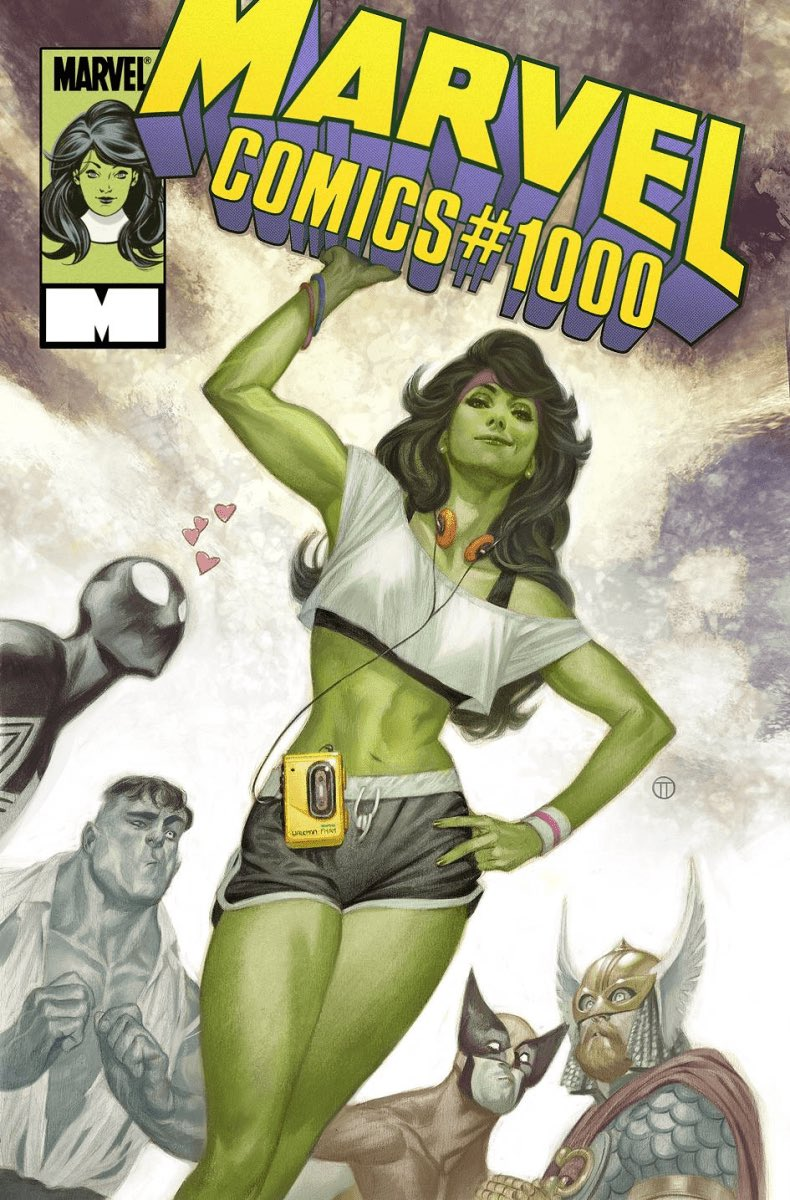 I ordered this beautiful @TotinoTedesco cover today! The best Marvel Comics 1000 cover if you ask me! <br>http://pic.twitter.com/Sel7vPsA9g