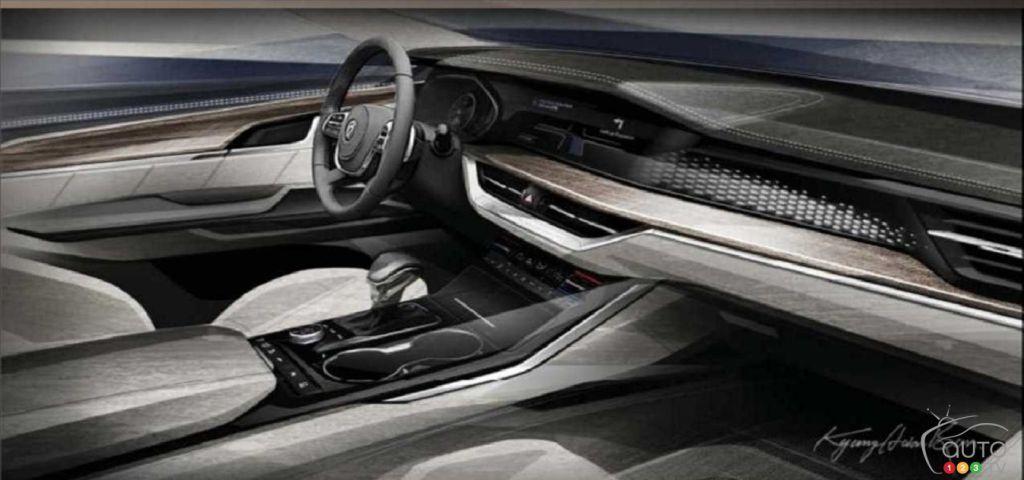 The 2020 #KiaMohave previews the brand's future interiors #Auto123 buff.ly/2KXHK81