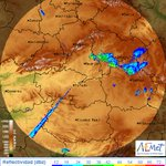 Image for the Tweet beginning: Temperatura máxima hoy en #Móstoles