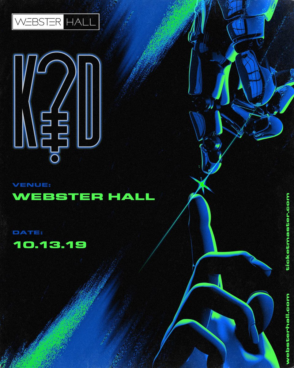 my first headline show in NYC will be October 13th at the legendary @WebsterHall  Tickets on sale Friday at 10 AM EST, AMEX pre-sale starts tomorrow.  link:  http:// hive.co/l/nyc1013    <br>http://pic.twitter.com/c7Ee6NwjzF
