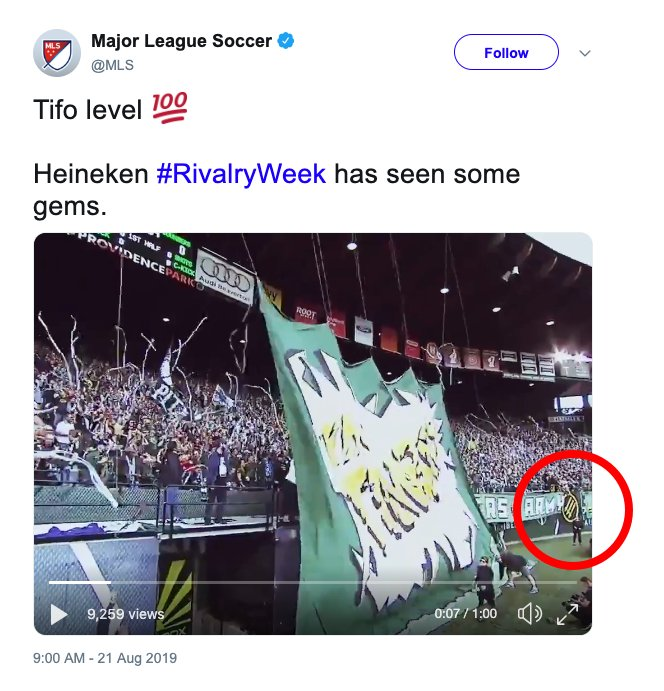 Wow, @MLS has sanctions for a thing and then uses it in their marketing campaign, we totally did not see that coming h/t @seanrea_ #AUnitedFront #RCTID  <br>http://pic.twitter.com/2JmzqDGDnO