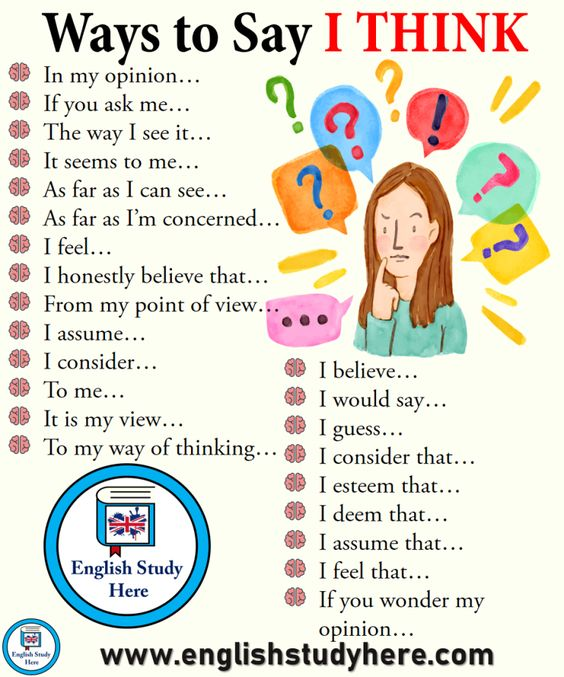 "Ways to say ""I think""#LeftHandersDay #learning #ENGvAUS #English"