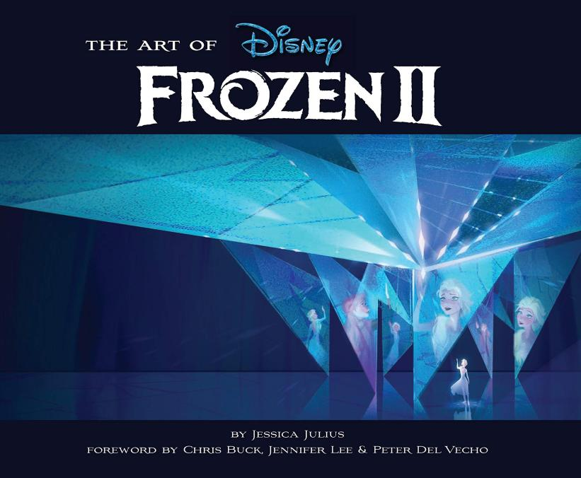 #Frozen2  Final cover of The Art of Frozen 2 (didn't change so much from the first leak we got on it two month ago ^^)  Thanks to Maho for relaying this :p <br>http://pic.twitter.com/MpWV5vBcmJ