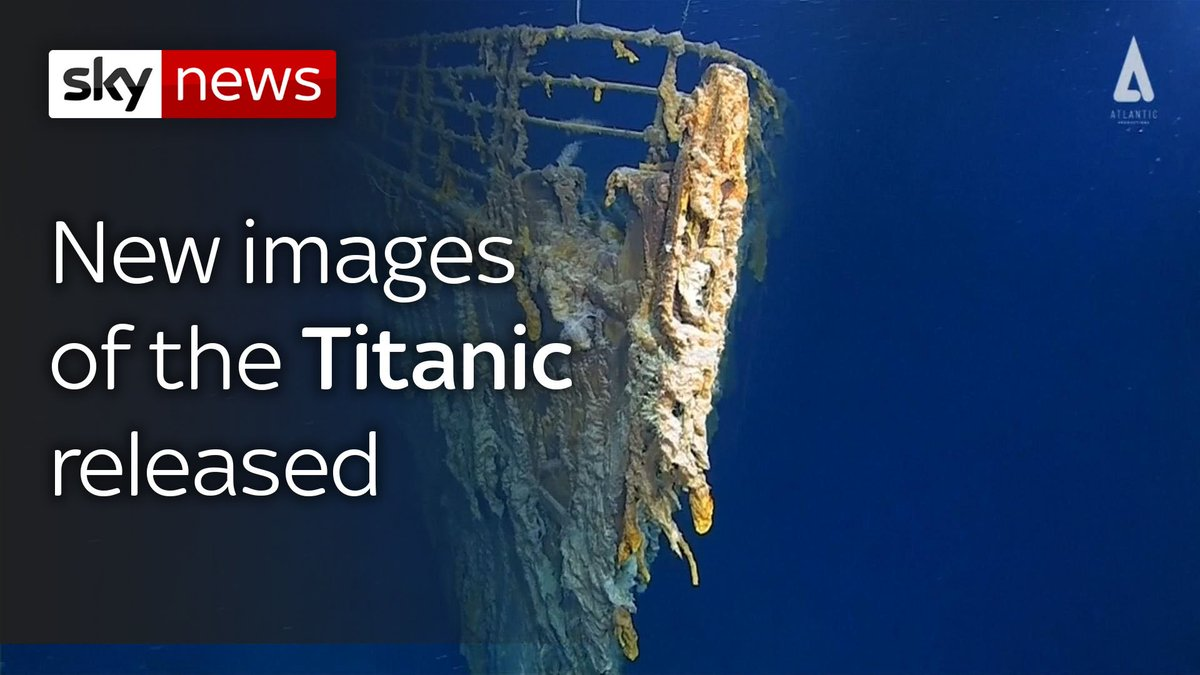 @SkyNews's photo on Titanic in 14