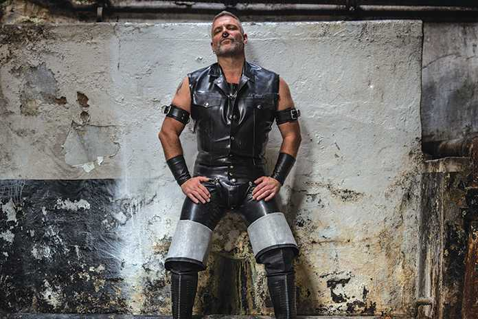In silver lake, a gay biker bar for la's leather daddies