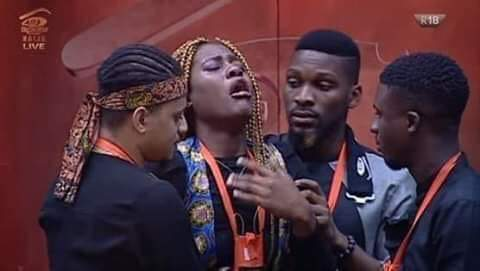 #Bbnaija Ebuka: Gedoni you have been evicted from the Big Brother house  Biggie: Gedoni you have 10seconds to leave the house 10,9,8,7,6....  Khafi: <br>http://pic.twitter.com/NAk6hoLG2H