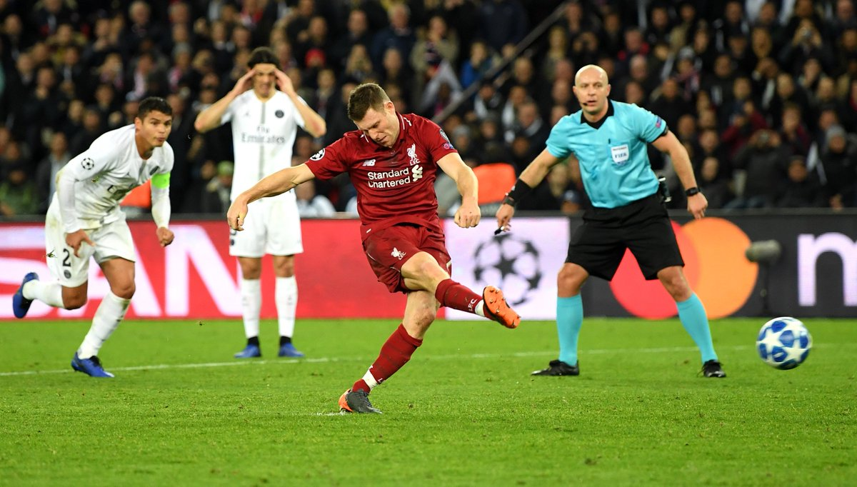 Who knew @JamesMilner took no-look penalties?<br>http://pic.twitter.com/YlPrMMDOMp
