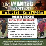 Image for the Tweet beginning: #WantedWednesday   #LASD Needs Your Help