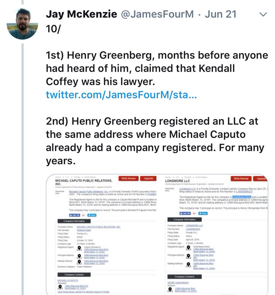 @ScottMStedman @BylineTimes Same setup as Michael Caputo with Russian he lied to Congress about? https://t.co/Ykn1FQLp5Z