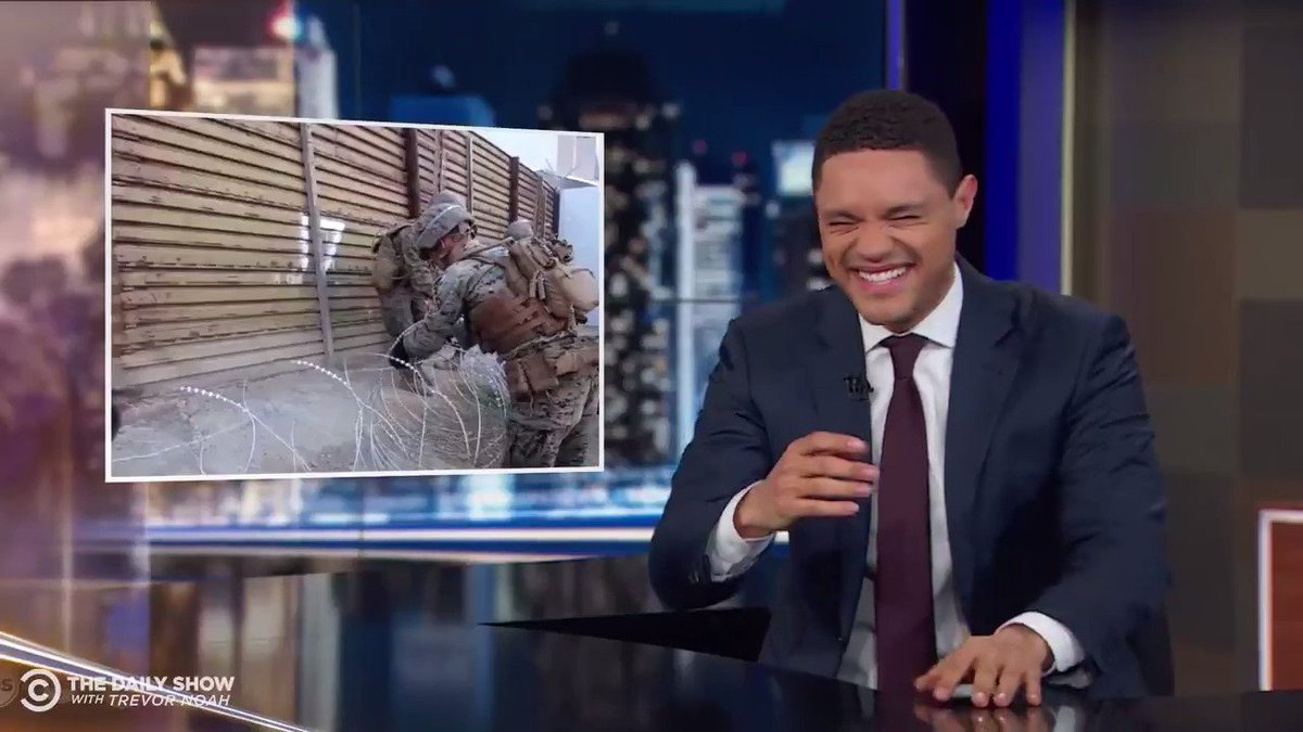 Trevor Noah Loses It Laughing About Border Thefts: Mexico Is Stealing The Wall