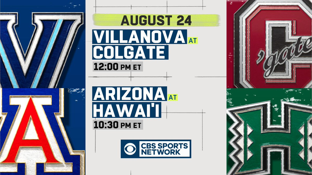 Cbs Sports Network On Twitter Wake Up There S College Football Being Played Today