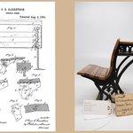 Image for the Tweet beginning: #BackToSchool yet? In 1869, inventor