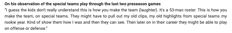 This quote from @ChrisHarrisJr on the #Broncos special teams is so, so good. #StrapHarris <br>http://pic.twitter.com/rTBcqqAn1S