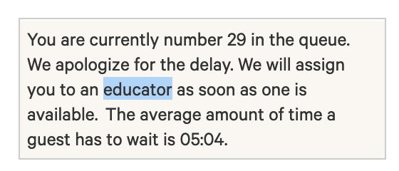 assign me to a live-chat-widget educator!