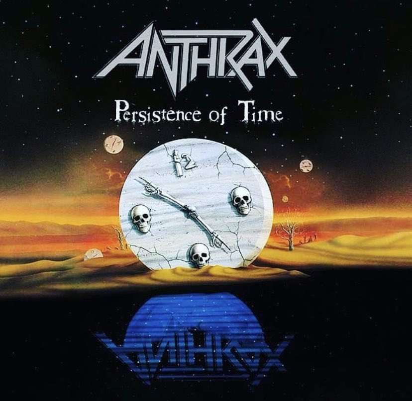 On this day 1990 - Persistence Of Time was released.  The album was nominated for a Grammy for best metal performance. ⁣  Which songs are your faves?  #anthrax<br>http://pic.twitter.com/jfBUMfQB3m