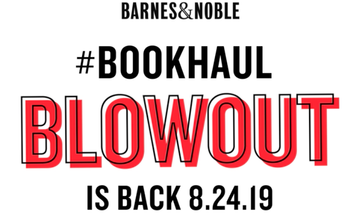 #BNBookHaul is back on 8/24! Here are 10 ways to make the most of it: spr.ly/6012ENI5Y #bookhaul