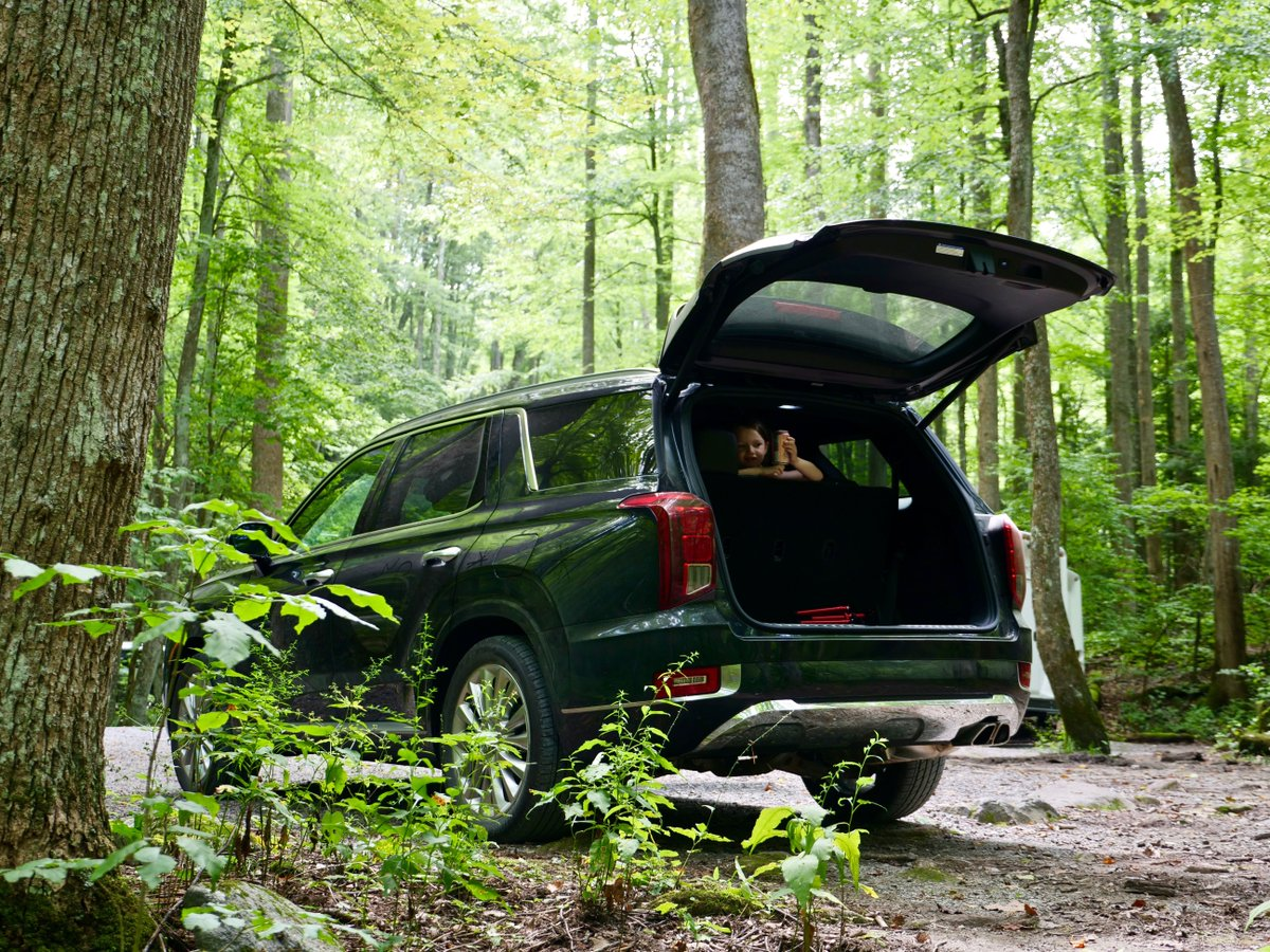 Took the @Hyundai Palisade up to the Great Smoky Mountains @NatlParkService to hike with my 6-year old and found amazing beauty. instagram.com/p/B1b-nOSgokN/