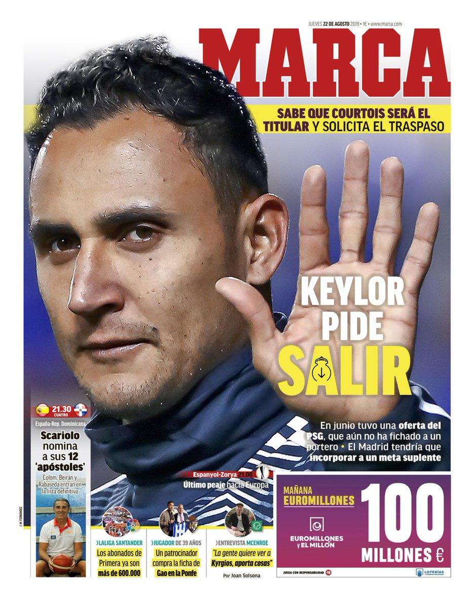 Keylor Navas veut quitter le Real Madrid !
