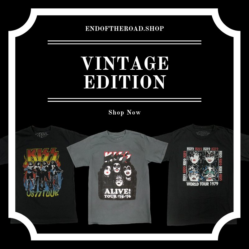 Rock out vintage style! Shop the EOTR store for more iconic vintage looks: bit.ly/2NmrFvw