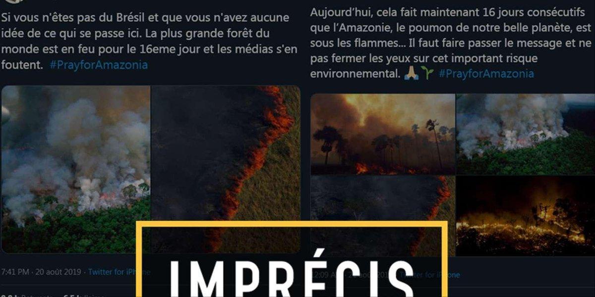 Incendies en Amazonie : des photos hors contexte pour illustrer une catastrophe bien réelle https://www.lemonde.fr/les-decodeurs/article/2019/08/21/incendies-en-amazonie-des-photos-hors-contexte-pour-illustrer-une-catastrophe-bien-reelle_5501408_4355770.html?utm_term=Autofeed&utm_medium=Social&utm_source=Twitter#Echobox=1566422190…